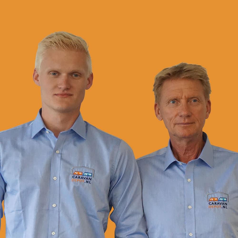 Dion en Fred Lukkien